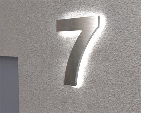 hausnummer mit beleuchtung klingelknopf24 de t 252 rklingeln nano tec design
