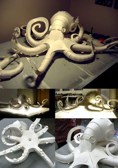 Octopus Papercraft - octopus by scummy on deviantart