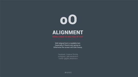 typography alignment 10 typography and design tips for beginners creative shrimp