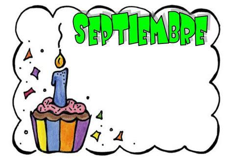 imagenes de cumpleaños en septiembre mis cosas de maestra carteles de cumplea 209 os