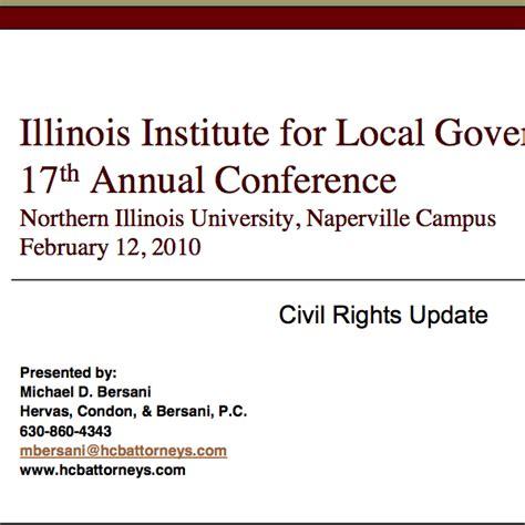 civil rights act section 1983 civil rights update 2010 hervas condon bersani p c
