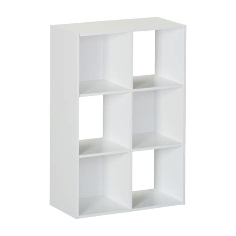 Ameriwood 6 Cube Storage Shelf 7641015p 7641026p 7641207p Cube Storage Shelves