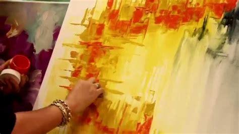cuadro abstracto como pintar un cuadro abstracto gabriela mensaque