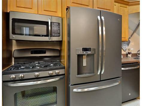 Kitchen Appliances Inspiring Slate Appliance Bundles 4 Stainless Steel Kitchen Appliance