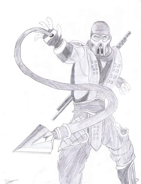 Mortal Kombat X Sketches by Scorpion Mortal Kombat By Bm23 On Deviantart