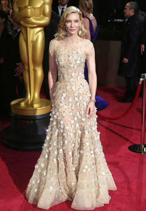 A Closer Look At The Oscars Cate Blanchett by Cate Blanchett Had The Most Expensive 2014 Oscars Look