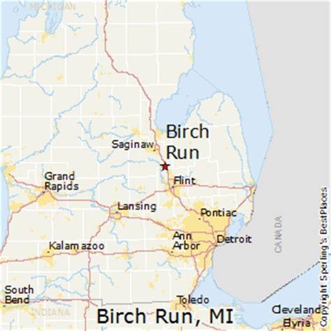the birch run birch run michigan map michigan map