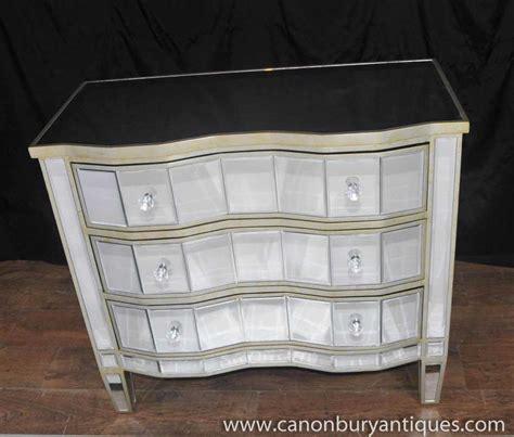 gespiegelte furnature deco mirrored chest drawers serpentine commode