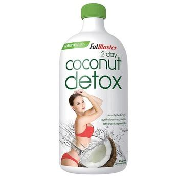 Naturopathica Fatblaster 2 Day Coconut Detox by Naturopathica Fatblaster 2 Day Plan Coconut Detox 750ml