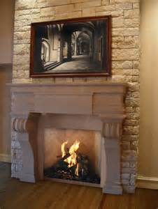 fireplace store okc florentine fireplace mantel mediterranean living room