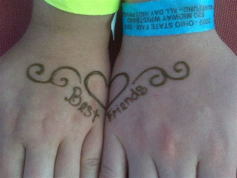 best friend henna tattoos 17 best images about henna work and ideas on