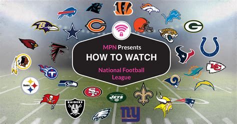 how to watch football how to watch 2017 18 national football league live online