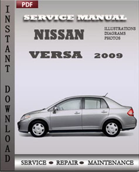 nissan versa 2009 service maintenance manual servicerepairmanualdownload com