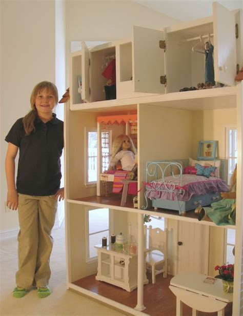 how to make an american girl doll house american girl doll house fun kid spaces pinterest