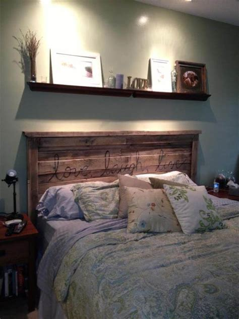 diy headboard pallet 40 recycled diy pallet headboard ideas 99 pallets
