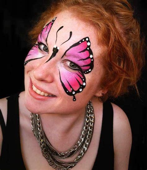 Fasching Schminken Erwachsene by So Schminken Sie Einen Farbenfrohen Schmetterling Auf