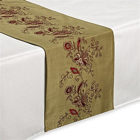 table runners bed bath and beyond buy lilly sage table runner from bed bath beyond
