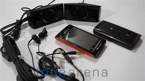Headset Sony Ericsson W8 sony w8 19 fone arena