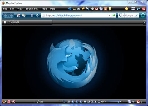 firefox themes how to make vista themes for firefox brand thunder