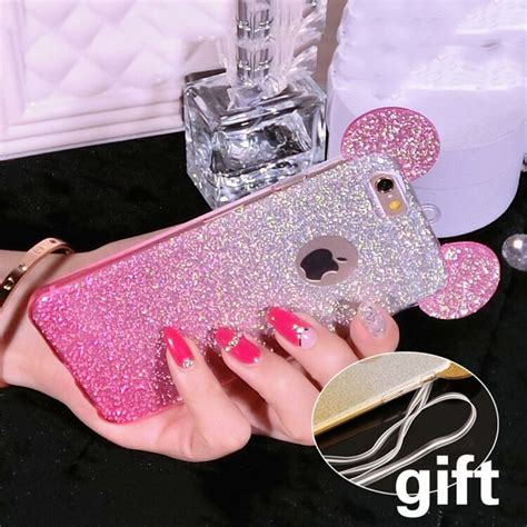 Ap Mickey 3d Glittery High Quality Softcase Iphone 4 5 6 6 Grand popular mickey mouse ears buy cheap mickey mouse ears lots from china mickey mouse