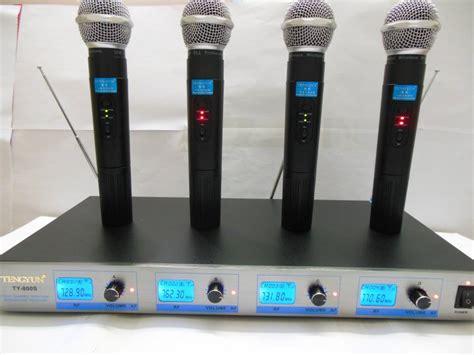 Mic Wireless Shure Pgx 68 2 Handheld buy free ship us 4 channel vhf wireless microphone system