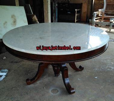 Meja Makan Marmer Bundar meja makan bulat marmer bulat diameter 1 5 meter