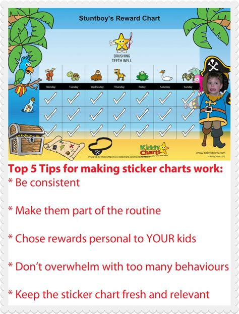 sticker charts 5 top tips to make your sticker charts work