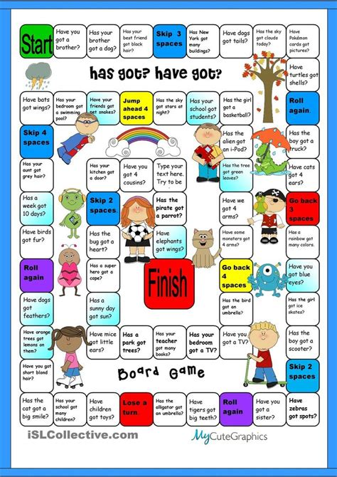 printable board games for esl 1000 images about free esl grammar and vocabulary games