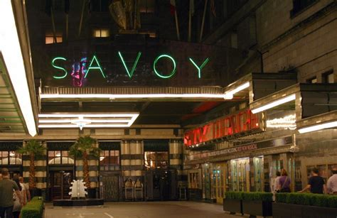 The Entrance Of A Cinema Hotel Or Theatre 17 Best Images About 5 The Savoy Hotel On