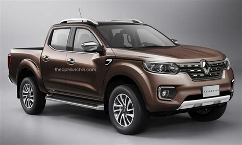 renault alaskan vs nissan navara renault alaskan production navara based pick up rendered