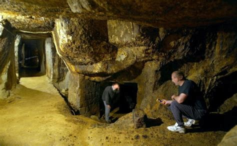 secret gold mine enigmantic discovery in 2003 in the bucegi mountains