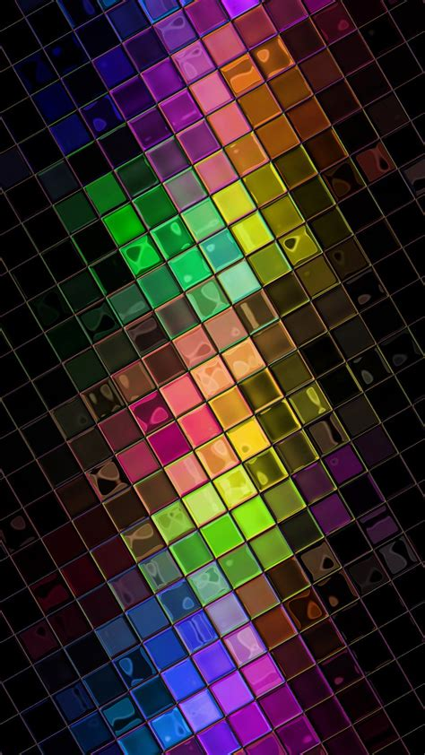 colorful wallpaper for android mobile colorful hd squares disco ball android wallpaper free download