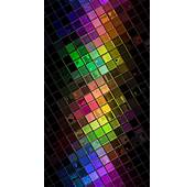 Colorful HD Squares Disco Ball Android Wallpaper Free Download