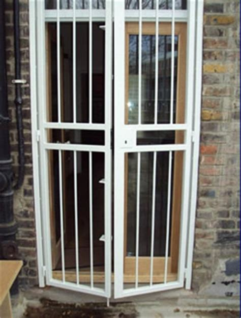 House Metal Front Door Gates Door Gates Metal Gates Bar Gates All From Brown Security Installations