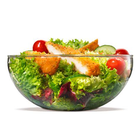 Backyard Burger Salad Calories Burger King Grilled Chicken Caesar Salad Calories
