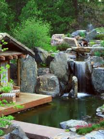 Relaxing Backyard Ideas 75 Relaxing Garden And Backyard Waterfalls Digsdigs