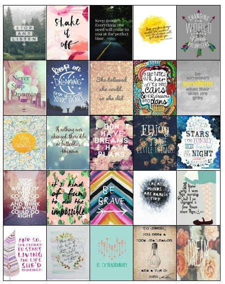 printable stickers quotes i love life planner and inspirational on pinterest