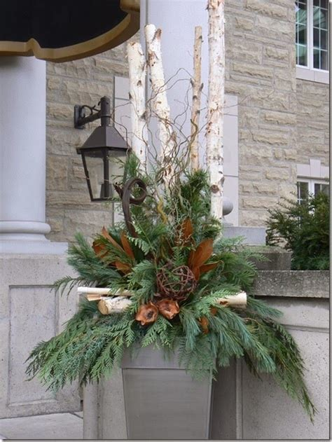 Flower Arrangements For Outside Planters by Outdoor Urn Arrangements