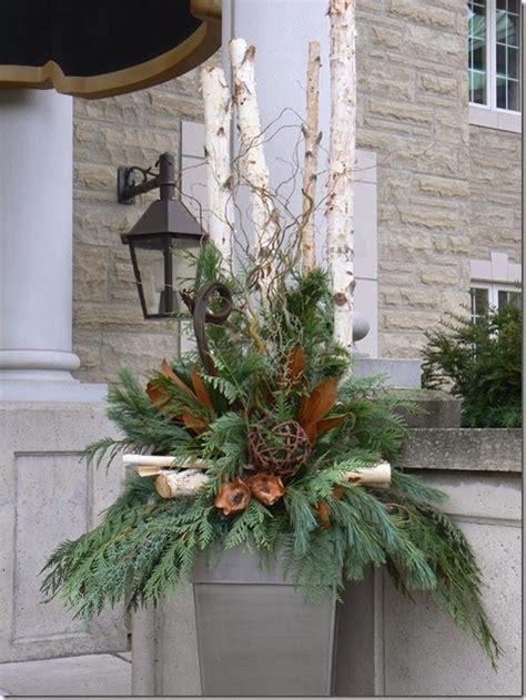 images of outdoor christmas urns outdoor christmas urn arrangements
