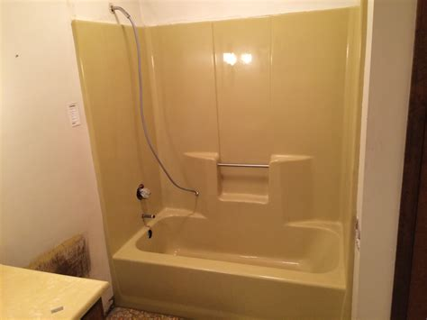 one piece bathtubs can a fiberglass tub be resurfaced total bathtub