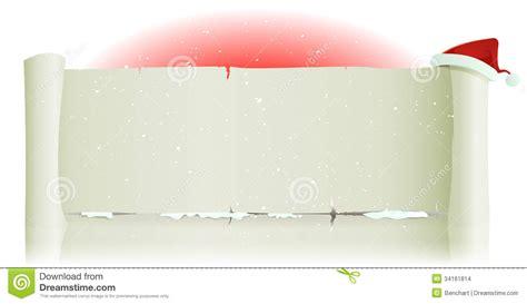 santa claus hat  merry christmas parchment backg stock images image