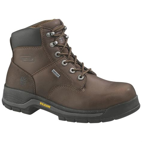 wolverine s boots wolverine 174 s 6 quot harrison tex 174 waterproof boots