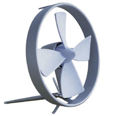 Propello Desk Fan by Propello Cageless Rubber Bladed Desktop Fan The Green