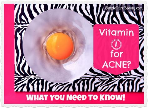 Which Light Sensitive Vitamin Is Abundant In Milk by Best 25 Vitamin A Acne Ideas On