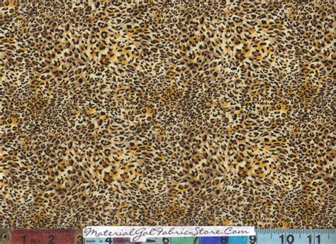 leopard fabric sold by the yard not cut until it s sold