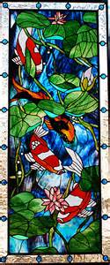 Koi stained glass galleryhip com the hippest galleries