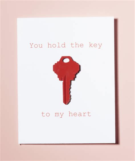 creative valentine s card ideas key easy and