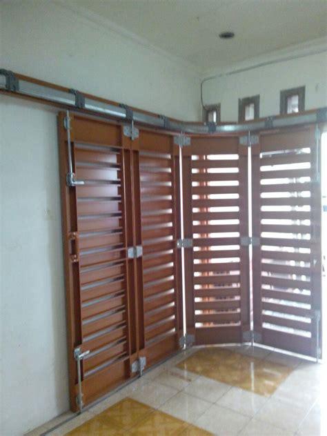 Jual Pintu Garasi jual rel pintu garasi minimalis harga murah jakarta oleh