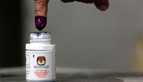 Tinta Pilkada tinta pilkada serentak bersertifikat halal dari mui