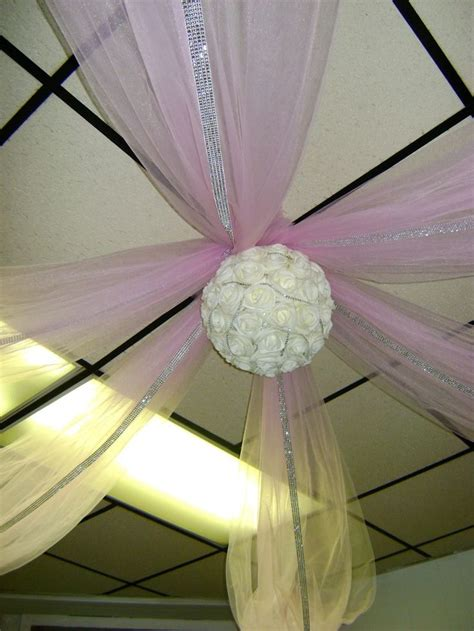 tulle ceiling draping ceiling draping party hardy pinterest
